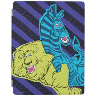 Alex and Marty Buddies iPad Cover