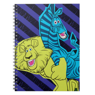 Alex and Marty Buddies Notebook