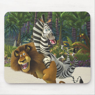 Alex and Marty Playful Mouse Mat