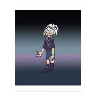 Alex Anime Art Gallery Character Postcard