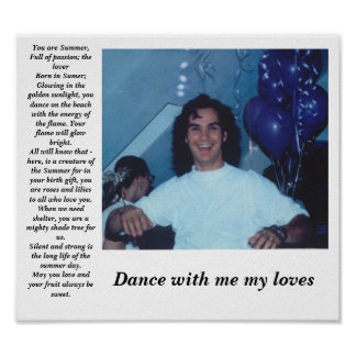 alex dance poster