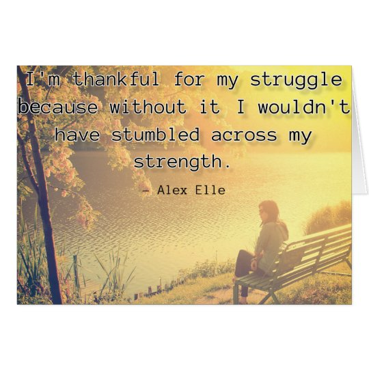 Alex Elle quote - I am thankful for