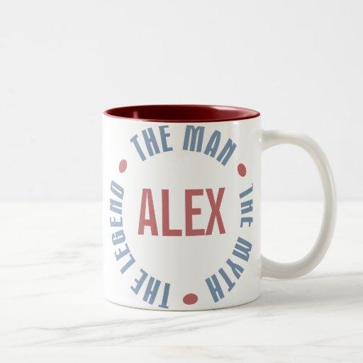 Alex Man Myth Legend Customizable Coffee Mugs