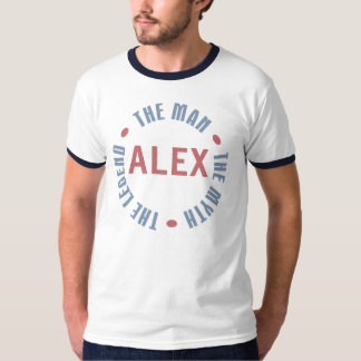 Alex Man Myth Legend Customizable T-Shirt
