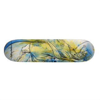 Alex Pardee Riding Revenge Skateboard Decks