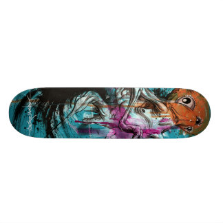 Alex Pardee Stoomach Bodies Custom Skate Board