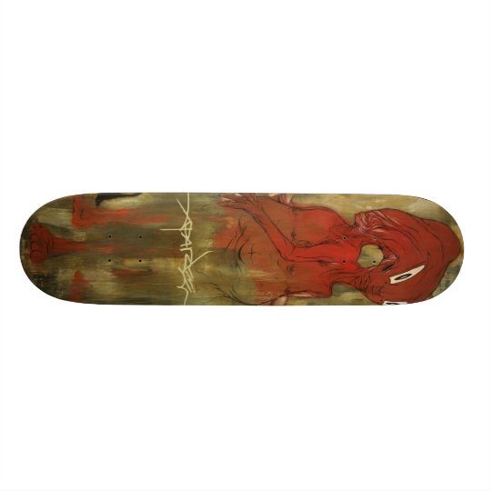 "Alex Pardee ""TheTwins"" 18.1 Cm Old School Skateboard"