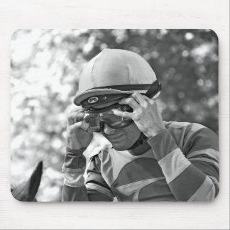 Alex Solis - World Class Jockey Mouse Pad