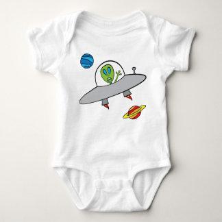 Alex the Alien - Baby Jersey Bodysuit