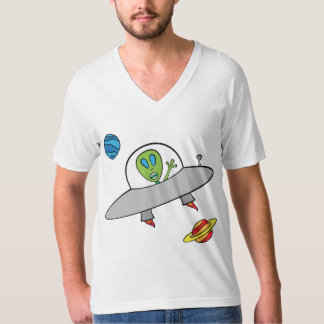 Alex the Alien - Men's V-neck T-Shirt