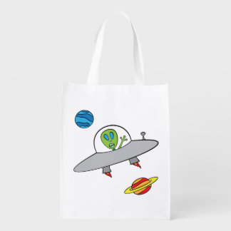 Alex the Alien - Reusable Bag