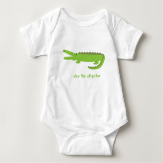 Alex the Alligator Baby Bodysuit