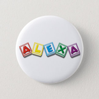Alexa 6 Cm Round Badge