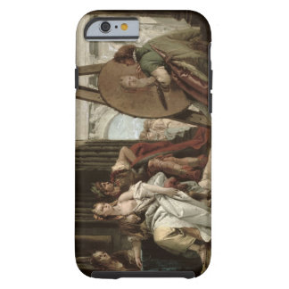Alexander and Campaspe at the house of the painter Tough iPhone 6 Case