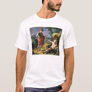 Alexander and Diogenes, 1818 (oil on canvas) T-Shirt