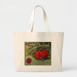 Alexander Apples Jumbo Tote Bag