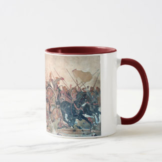 Alexander at Issus Mug