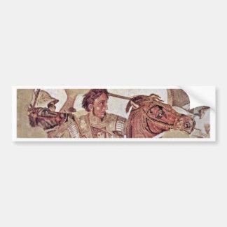 Alexander Battle  By Meister Der Alexanderschlacht Bumper Sticker