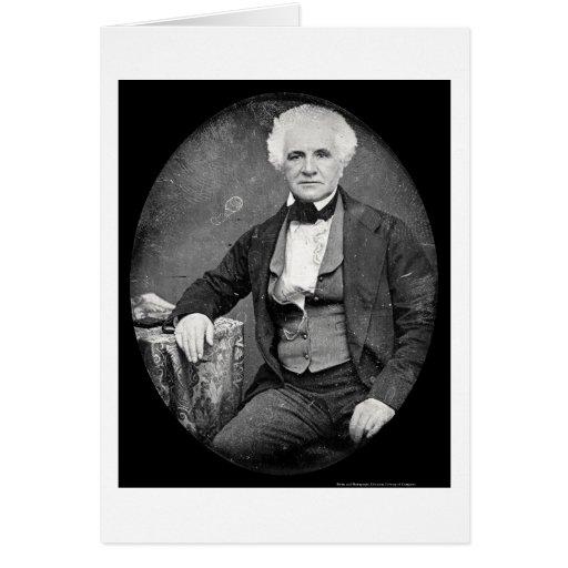 Alexander Bell Daguerreotype 1854 Greeting Card