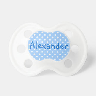 Alexander Blue and White Polka Dot Dummy