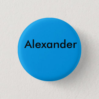 Alexander Brooklyn footballe bage 3 Cm Round Badge
