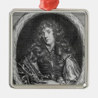 Alexander Browne, engraved by Pieter de Jode Christmas Ornament
