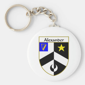 Alexander Coat of Arms/Family Crest Key Chains