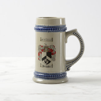 Alexander Coat of Arms Stein / Alexander Family