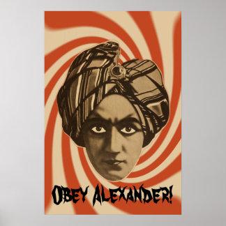 Alexander Custom Poster