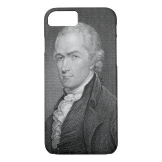 Alexander Hamilton (1757-1804) engraved by John Fr iPhone 7 Case