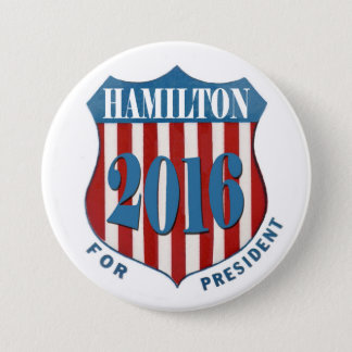 Alexander Hamilton 2016 7.5 Cm Round Badge