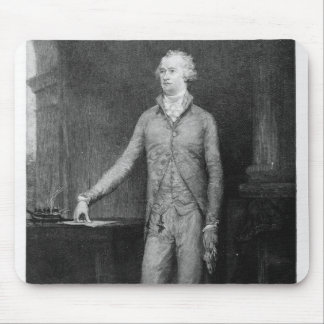 Alexander Hamilton, after the painting of 1792 Mouse Mat