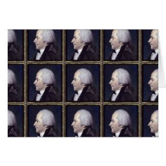 Alexander  Hamilton Designs Greeting Card