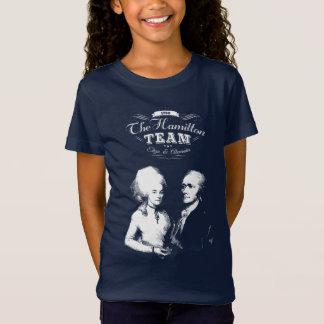 Alexander Hamilton, Eliza. History Gifts. Portrait T-Shirt
