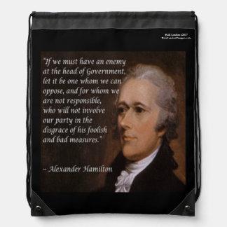 "Alexander Hamilton ""Enemy Leader"" Backpack"