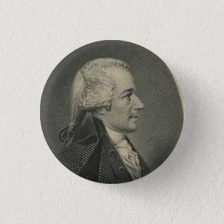 Alexander Hamilton engraving button