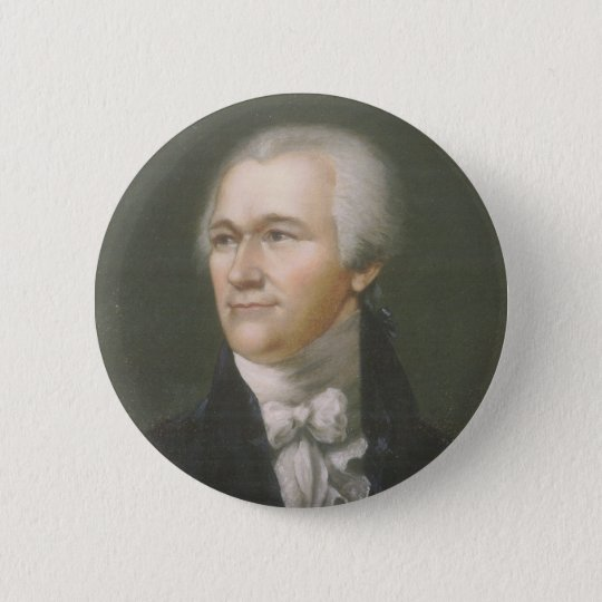 Alexander Hamilton small button
