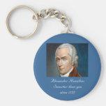 Alexander Hamilton Smarter than you colour Key Chain