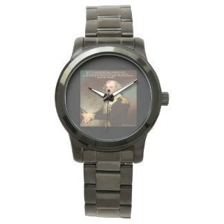 "Alexander Hamilton ""Why Government"" WristWatch"