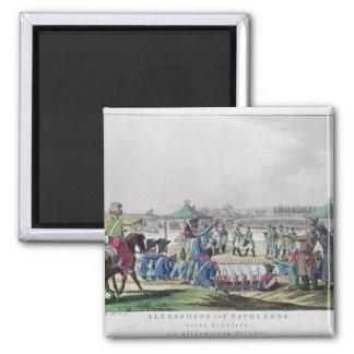 Alexander I  and Napoleon Magnet