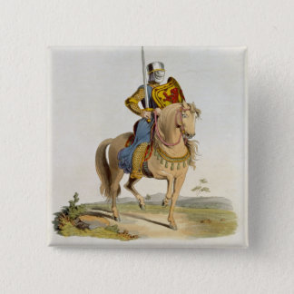 Alexander II, King of Scotland (1198-1249) 1214, f 15 Cm Square Badge