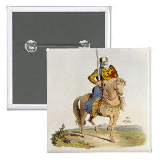 Alexander II, King of Scotland (1198-1249) 1214, f 15 Cm Square Badge