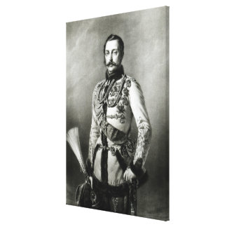 Alexander II  of Russia Canvas Print