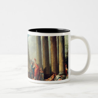 Alexander III  the Great before the Tomb Two-Tone Coffee Mug