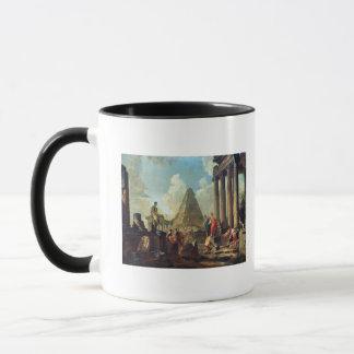 Alexander III  the Great before the Tomb Mug