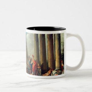 Alexander III  the Great before the Tomb Two-Tone Mug