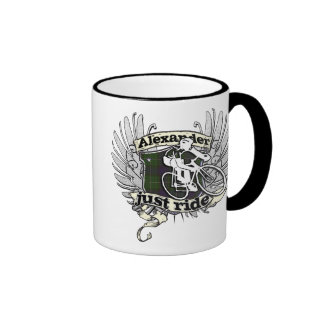 Alexander Just Ride Coffee Mug