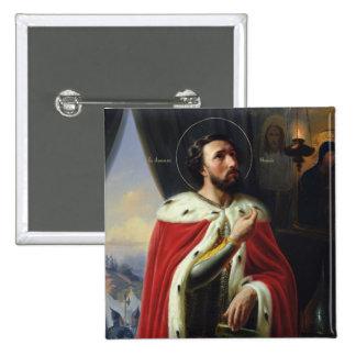 Alexander Nevsky, Duke of Novgorod 15 Cm Square Badge
