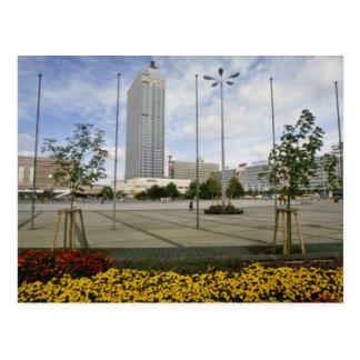 Alexander Platz, Former Center Of East Berl Postcard
