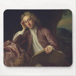 Alexander Pope and his dog, Bounce, c.1718 Mouse Mat